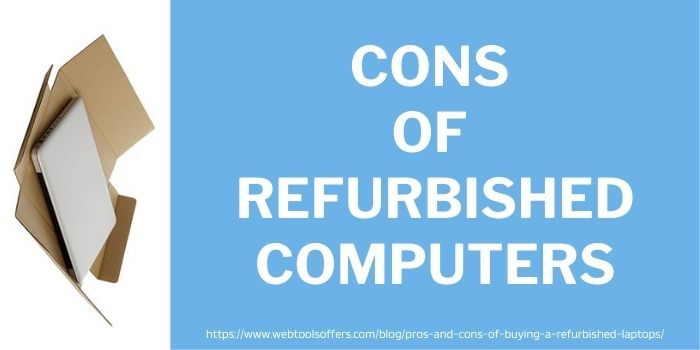 cons of refurbished computers