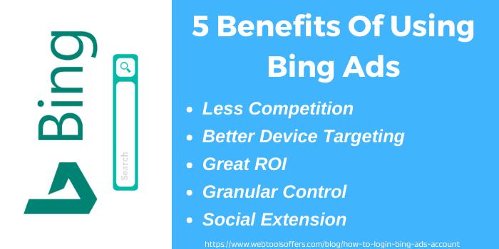 Top Benefits of using Bing ads